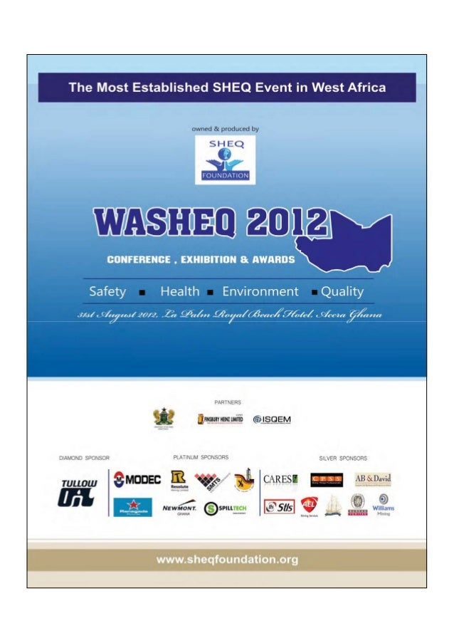 WASHEQ 2012  conference brochure