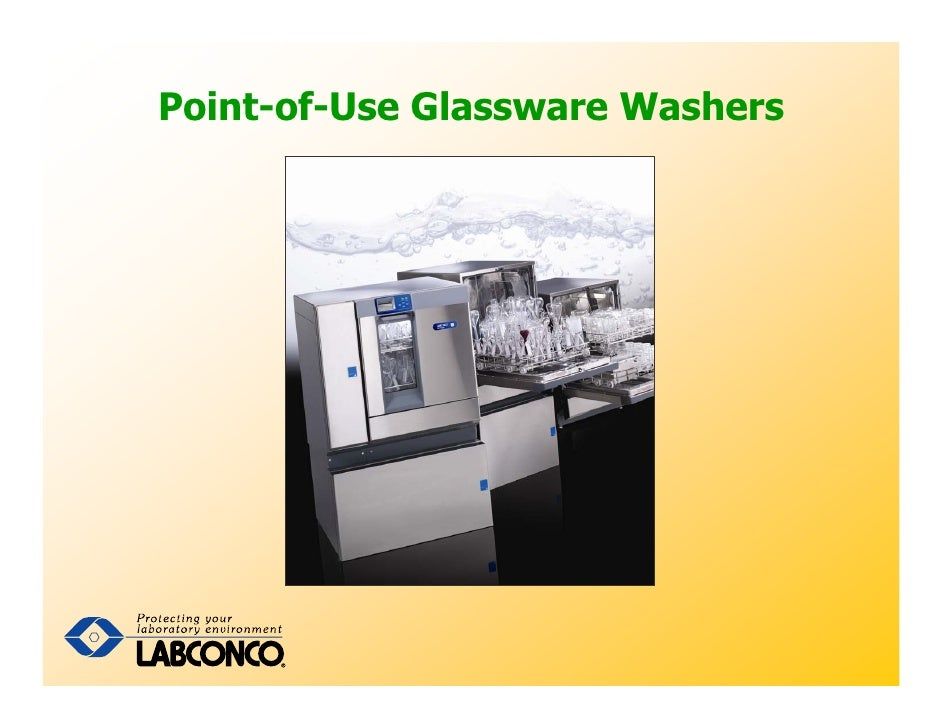 Point-of-Use Glassware Washers