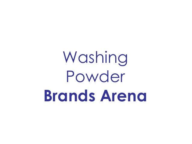 Washing Powder Brands Arena
