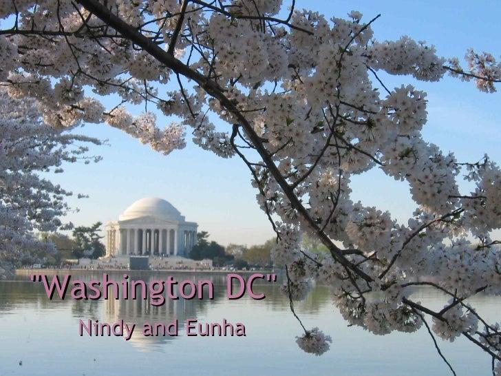 """""""Washington DC"""" Nindy and Eunha"""