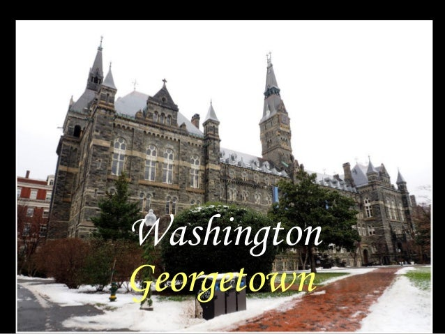 Washington Georgetown