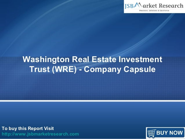 Real Estate Investment Trust : Washington real estate investment trust wre company