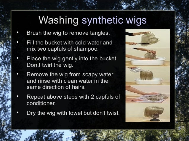 Washing Synthetic Wigs 83