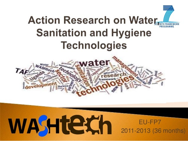 Action Research on Water, Sanitation and Hygiene Technologies
