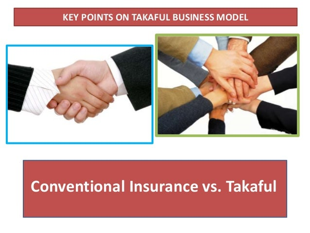 takaful vs conventional insurance pdf