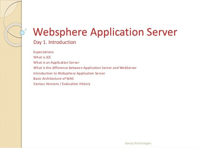 IBM Websphere introduction and installation for beginners
