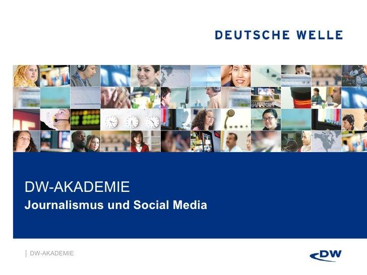 Was ist der Wandel: Social Media und Journalismus