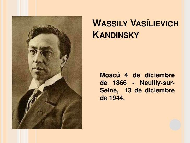 Wassily vasílievich kandinsky