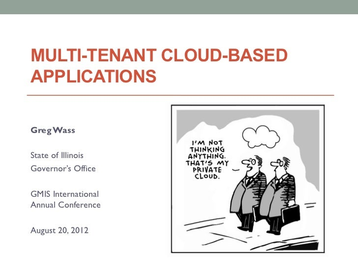 Multi-tenant cloud-based apps for government 8.20.12