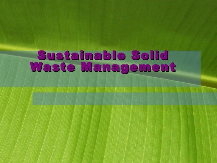 Solid Waste Management_Atul Kulkarni