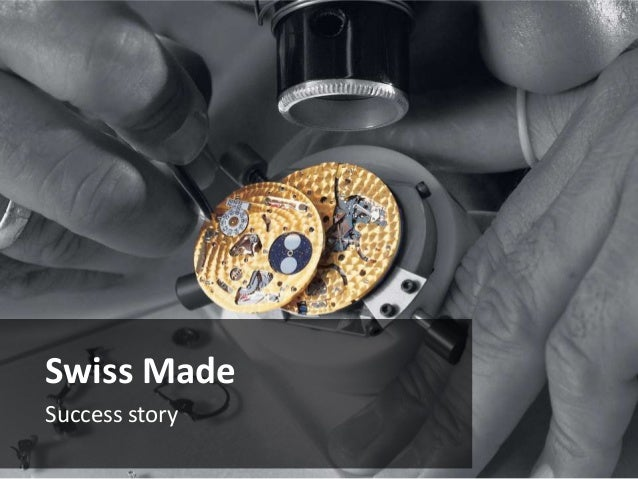 Introduction to Fine Swiss Watchmaking