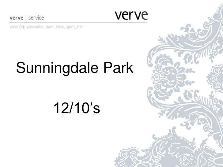 Sunningdale Park<br />12/10's<br />