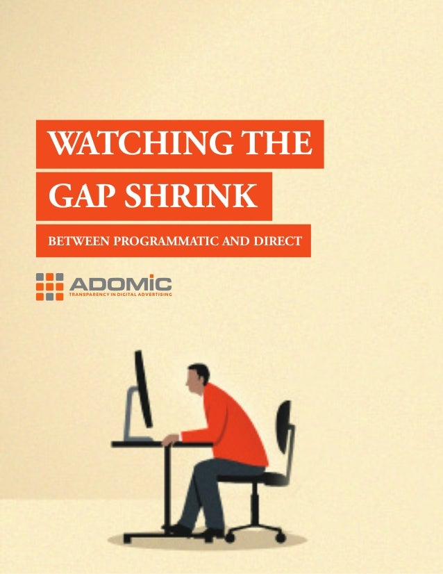 1 WATCHING THE GAP SHRINK BETWEEN PROGRAMMATIC AND DIRECT