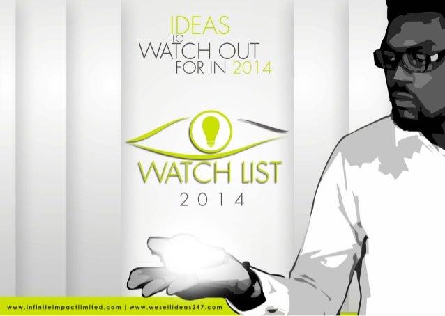 Watch List 2014