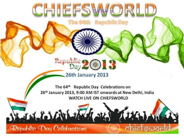 Live 64th indian republic day parade 2013