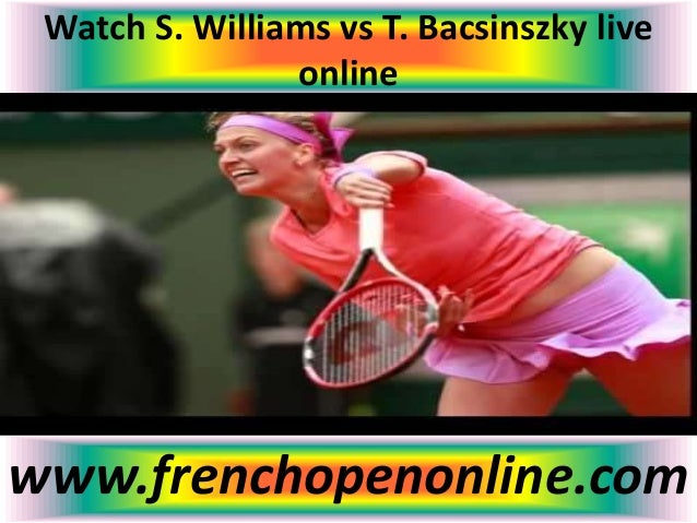 watch french open free online