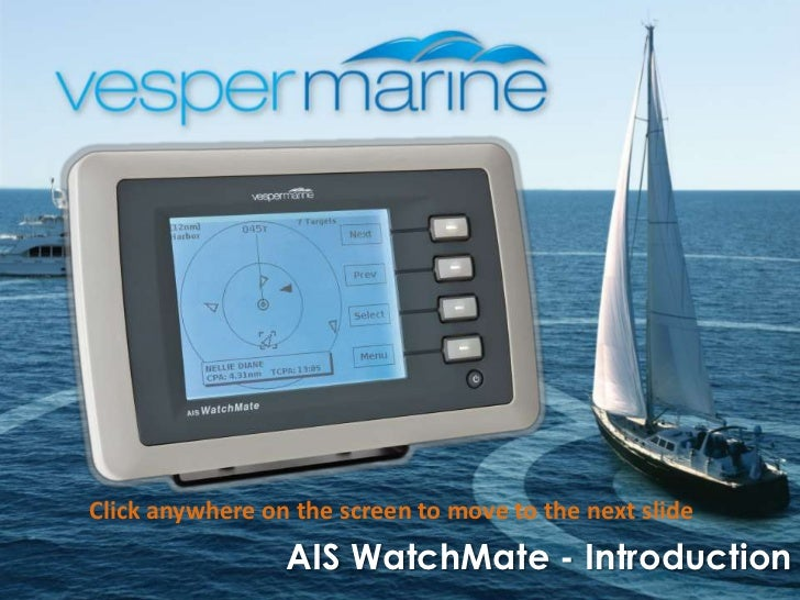 AIS WatchMate 850 Transponder Introduction