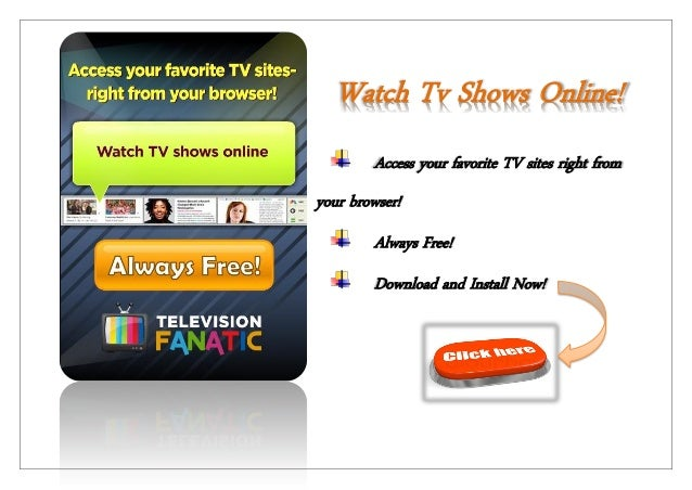 watch tv online: