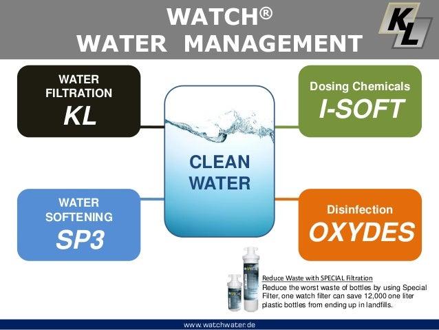 Watch water Management