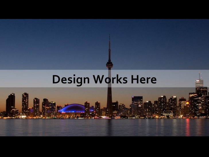 Design Works Here