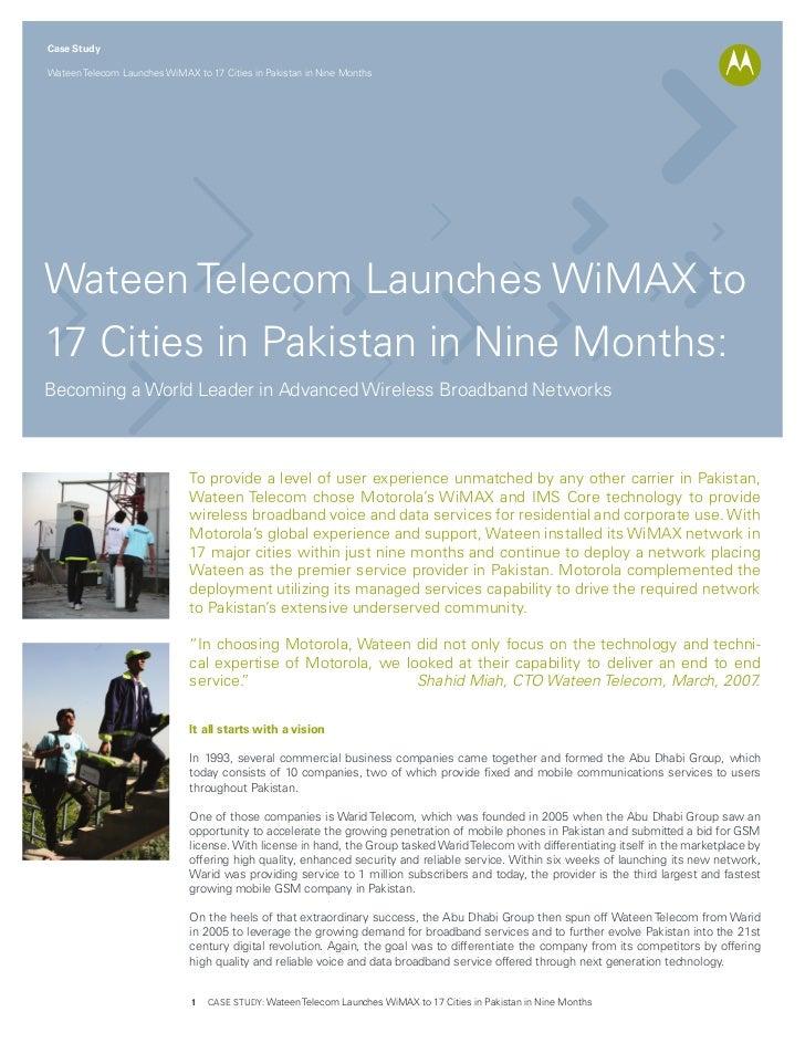Wateen telecom wi_max_case_study_copy
