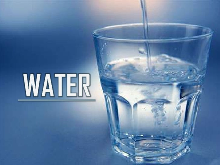 Water is an important macronutrient. It is the preciousfluid that keeps the body functioning at an efficientand healthy le...