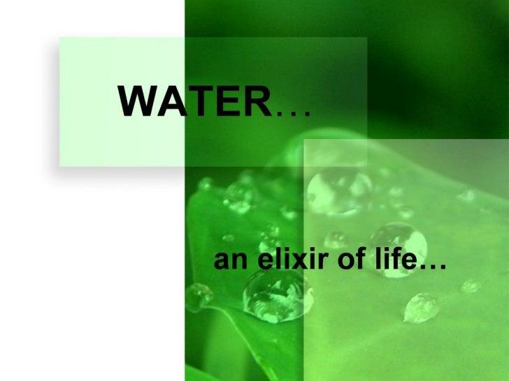 Water - Arun_Kannan