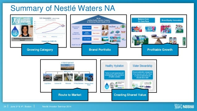 nestle waters report Number of gallons of water we will save each year in our california facilities take a look at our 2016 creating shared value report: contact us nestle.