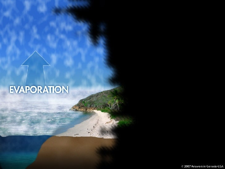 Water Cycle 1-Evaporation 03010