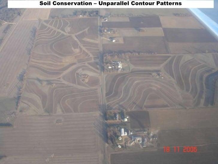 Soil Conservation – Unparallel Contour Patterns<br />