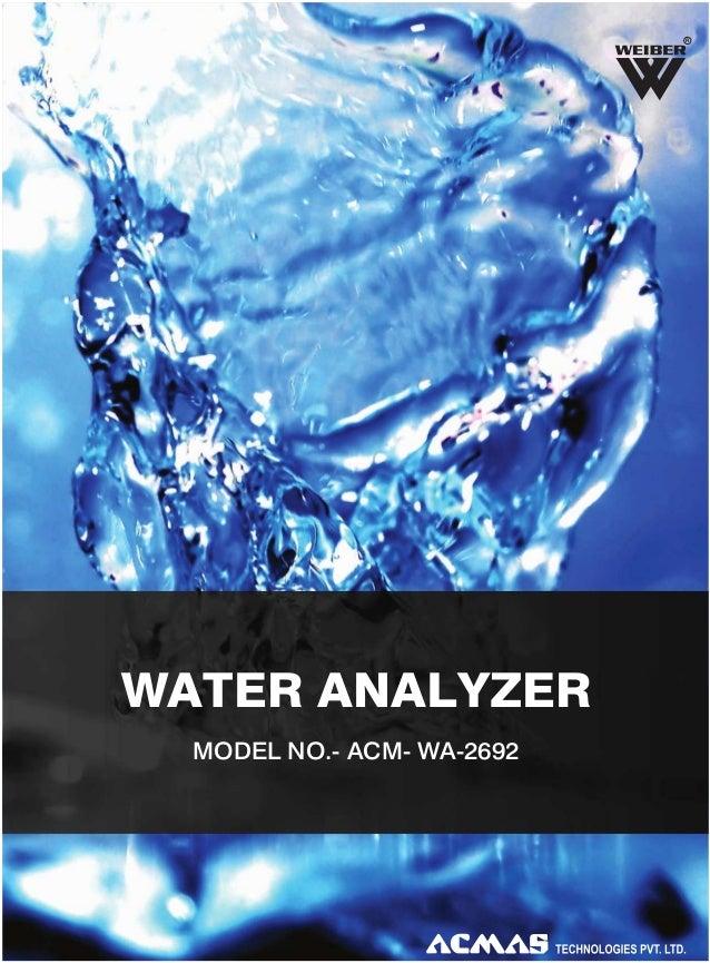 Water Analyzer by ACMAS Technologies Pvt Ltd.