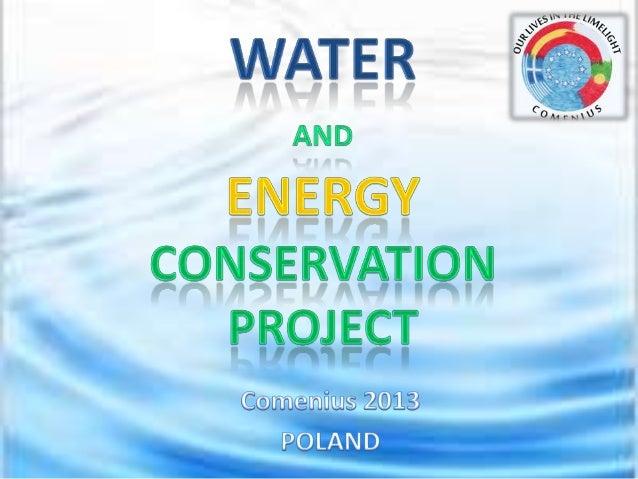 Waterand Energy: what we do...