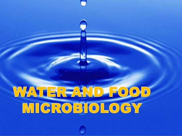 Water and food culture