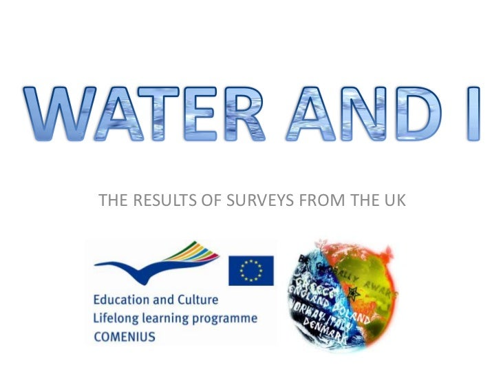 WATER AND I<br />THE RESULTS OF SURVEYS FROM THE UK<br />
