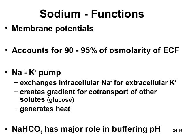 Water, Electrolyte, And Acid-Base Balance