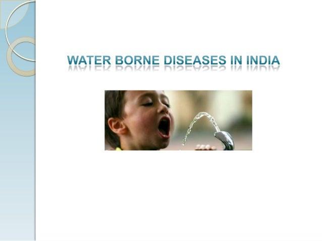 Water-Borne Diseases in India