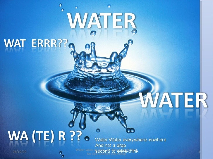 Water Problems in Delhi and Recommended solutions