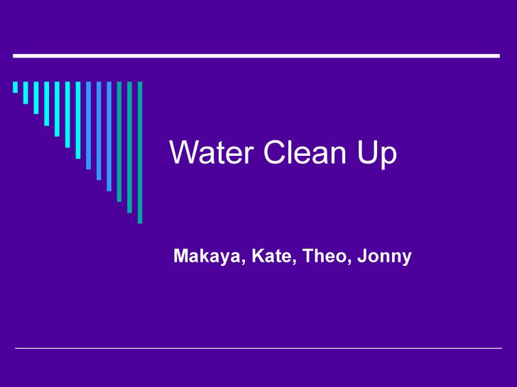 Water Clean Up 3