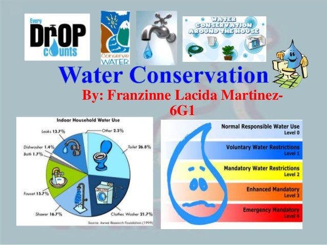 Research paper on water conservation