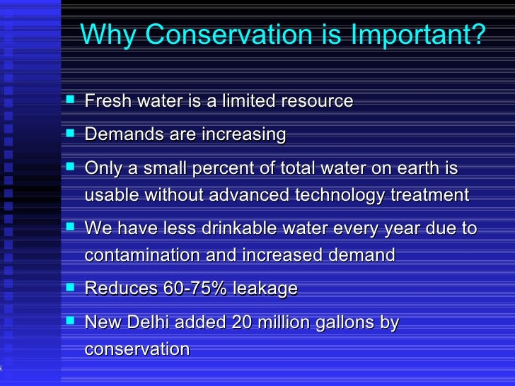 water conservation management essay Water conservation includes all the policies, strategies and activities to  sustainably manage the  improving water management practices that reduce  the use or enhance the beneficial use of water one strategy in water  conservation is rain.