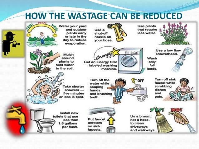 Water conservation water a precious resource for How to conserve water at home
