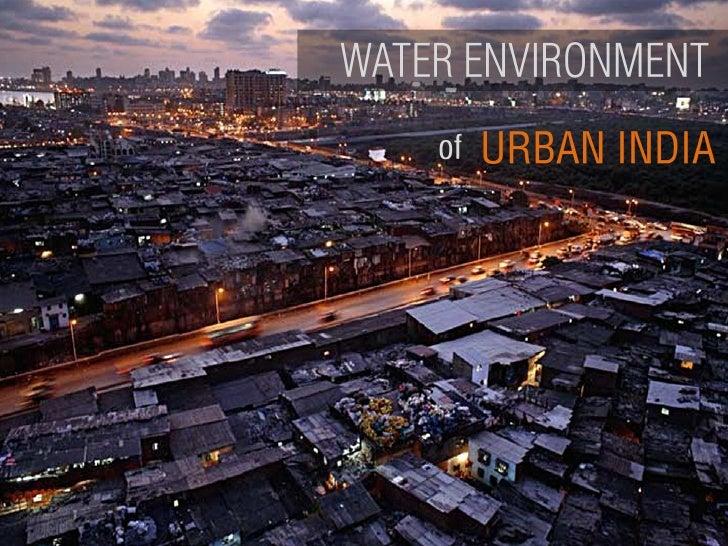 Water Environment of Urban India