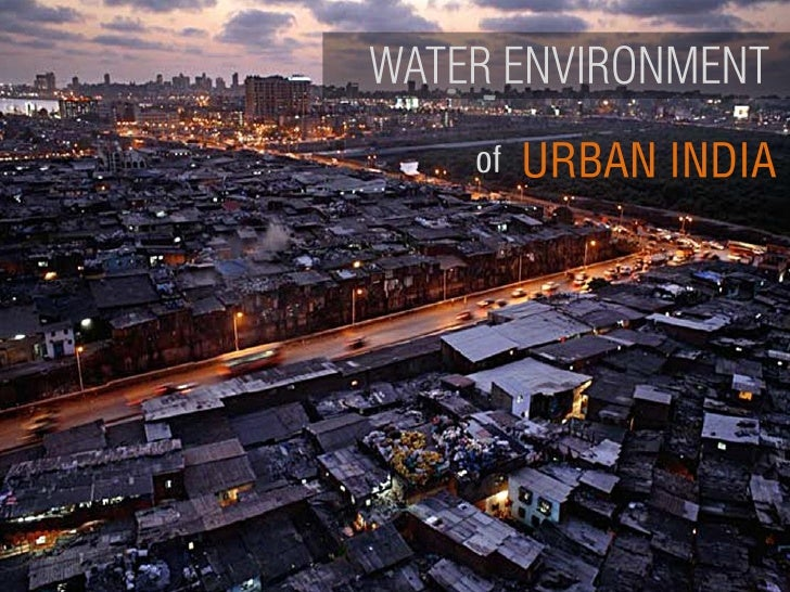 Water Environment of Urban India