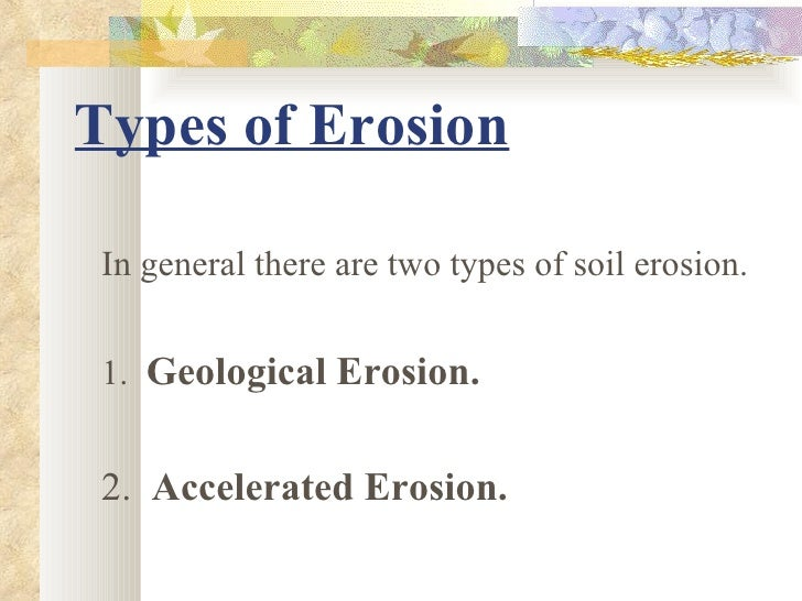 Types erosion images for Soil and its types