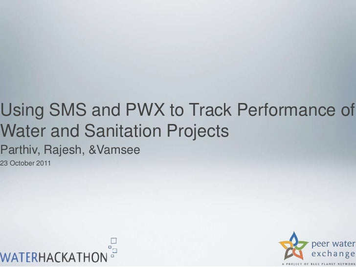 Using SMS to Track Long-term Operating Status of Projects