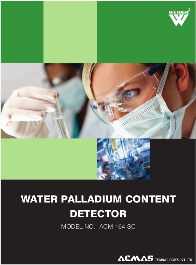 Water Palladium Content Detector by ACMAS Technologies Pvt Ltd.