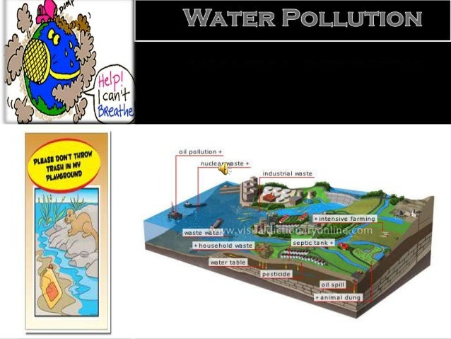 Problems faced by the people  Water pollution is a major global problem which requires ongoing evaluation and revision of...
