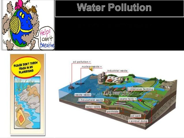 Problems faced by the people  Water pollution is a major global problem which requires ongoing evaluation and revision of...