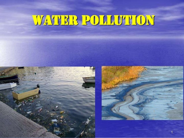 1 Water Pollution