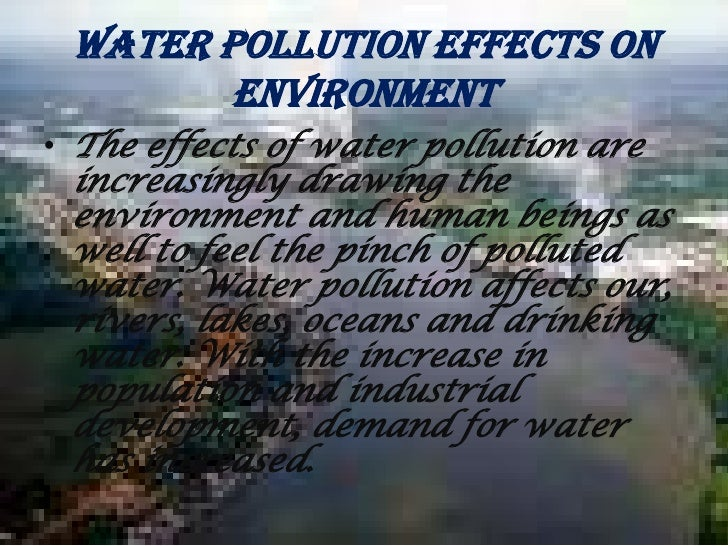 Effects Of Water Pollution - Spy Cam Porno